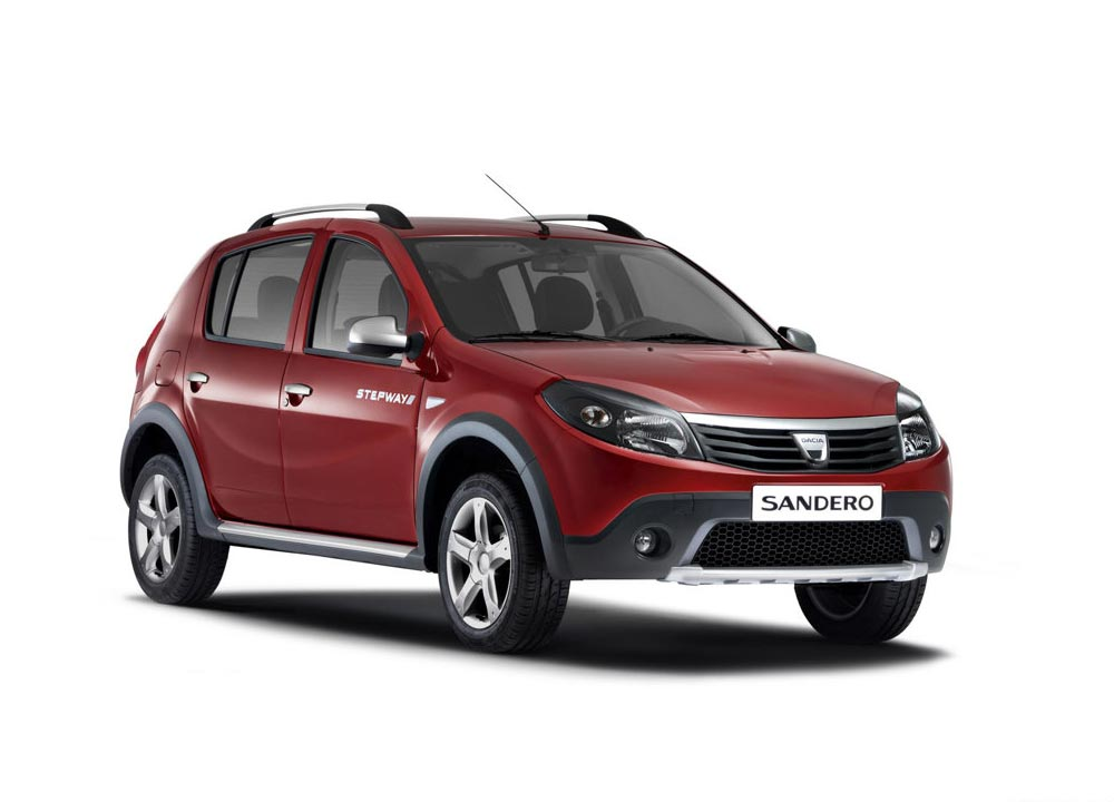 dacia sandero stepway en photos hd. Black Bedroom Furniture Sets. Home Design Ideas