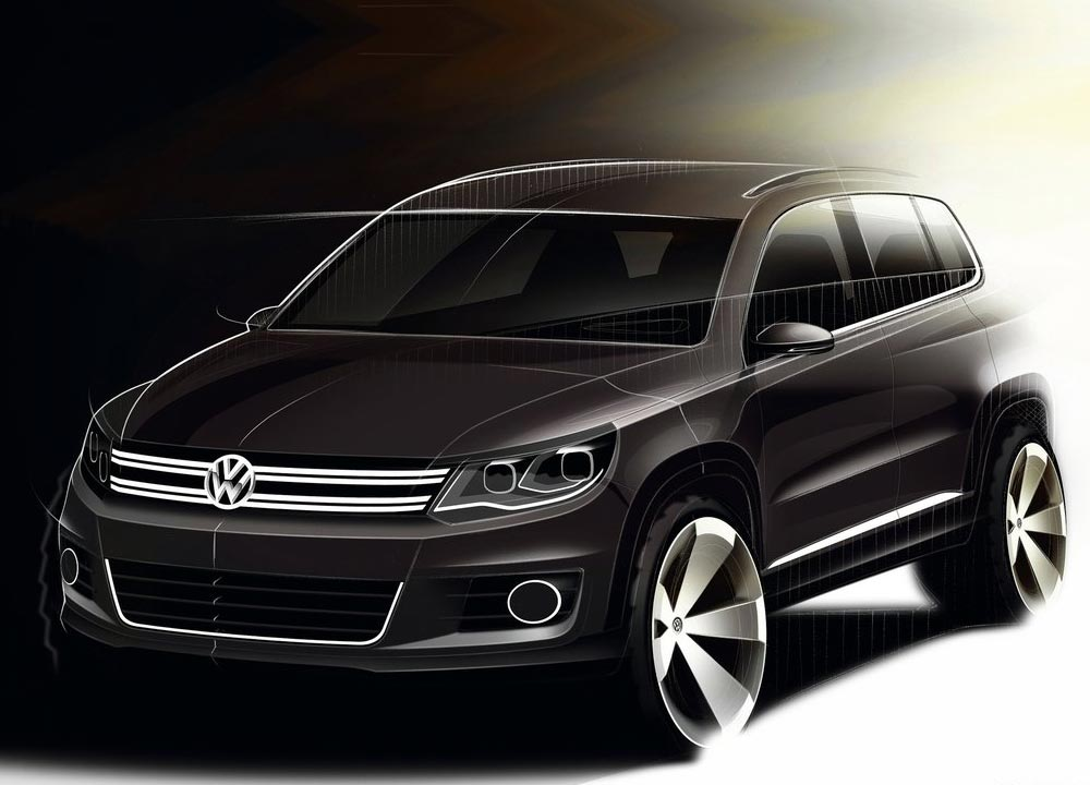 nouvelle volkswagen tiguan 2012 en photos hd. Black Bedroom Furniture Sets. Home Design Ideas