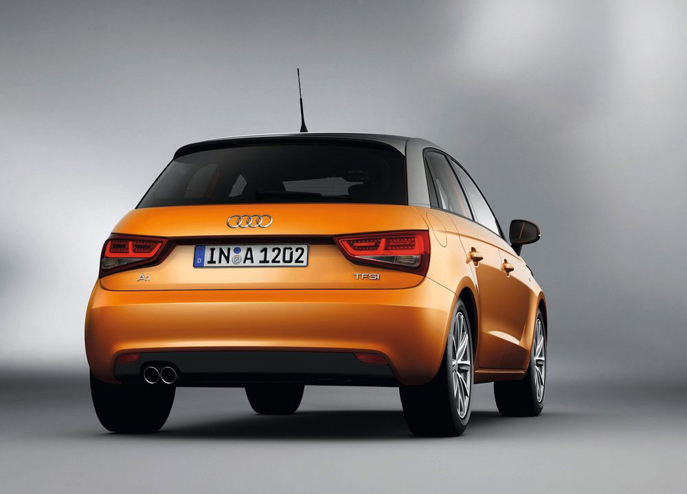 audi a1 sportback en photos hd. Black Bedroom Furniture Sets. Home Design Ideas