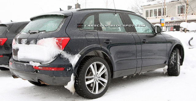audi q6 spyshots dans la neige. Black Bedroom Furniture Sets. Home Design Ideas