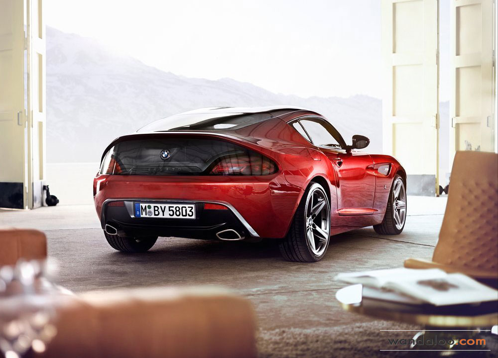 Bmw Zagato Coup 233 En Photos Hd Wandaloo Com