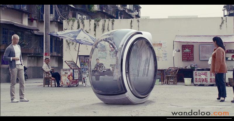 vw people s car project la voiture suspension magn tique. Black Bedroom Furniture Sets. Home Design Ideas