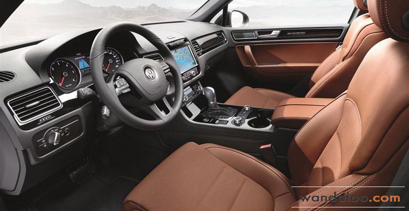 Volkswagen touareg edition sp ciale x anniversaire for Interieur tiguan 2017