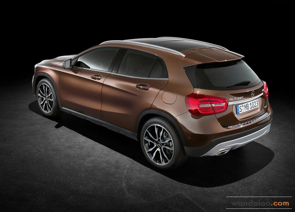 mercedes gla 2014 photos mercedes gla maroc. Black Bedroom Furniture Sets. Home Design Ideas