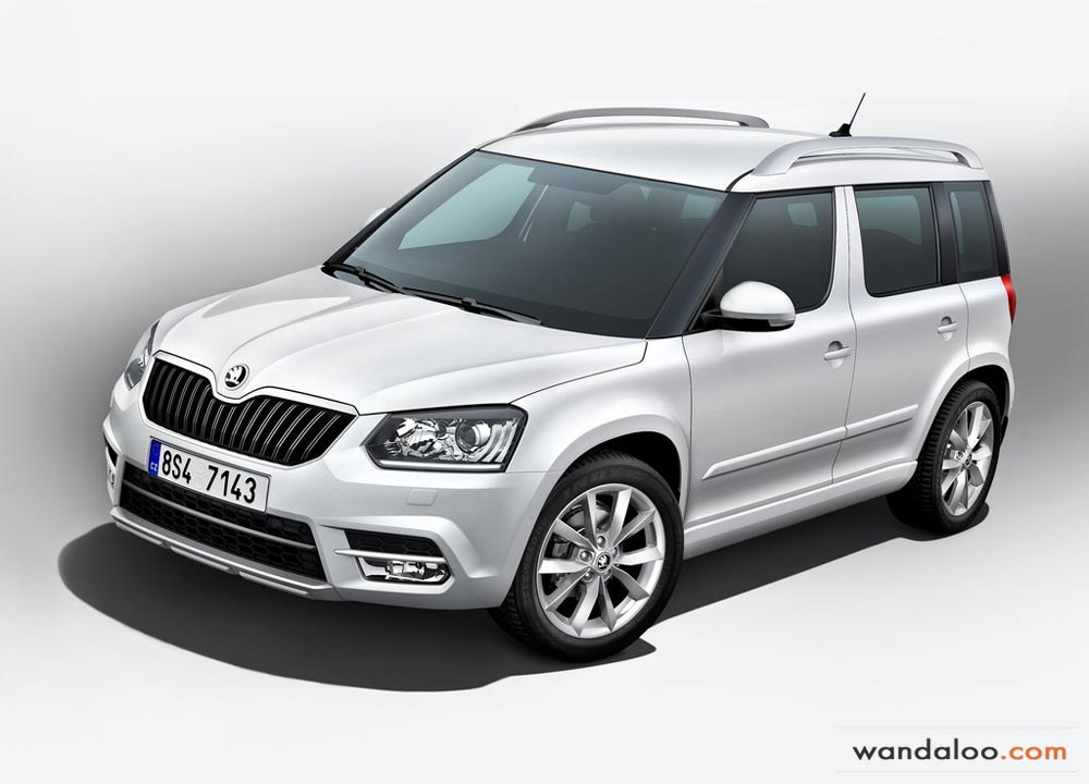 skoda yeti 2014 photos skoda yeti maroc. Black Bedroom Furniture Sets. Home Design Ideas