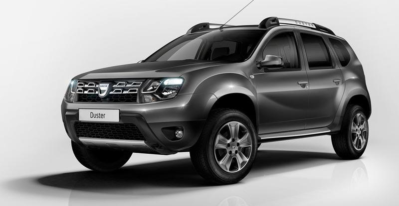 dacia duster 2014 new light look. Black Bedroom Furniture Sets. Home Design Ideas