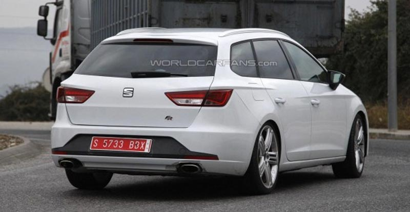 seat leon st cupra spyshots du break. Black Bedroom Furniture Sets. Home Design Ideas