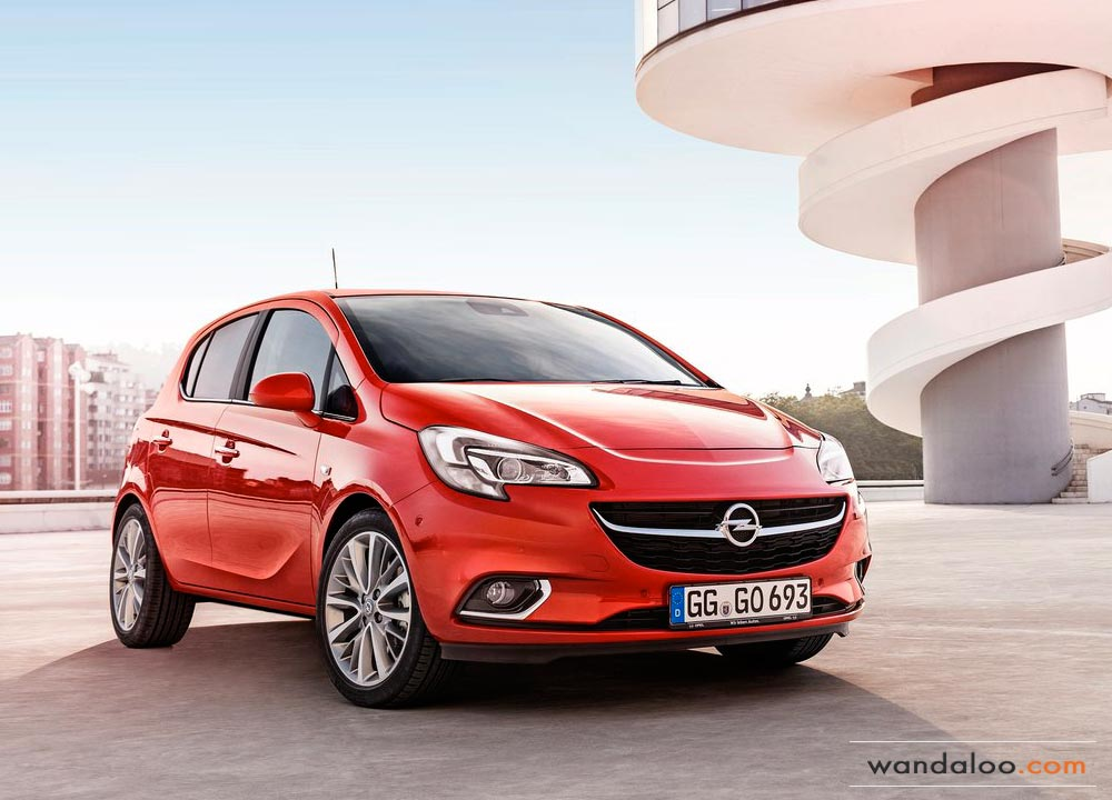 nouvelle opel corsa 2015 en photos hd. Black Bedroom Furniture Sets. Home Design Ideas