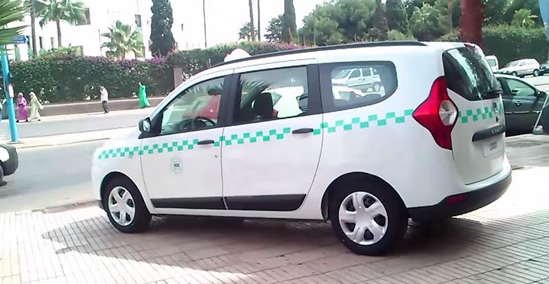 futurs grands taxis au maroc renault pr sente son dacia lodgy. Black Bedroom Furniture Sets. Home Design Ideas