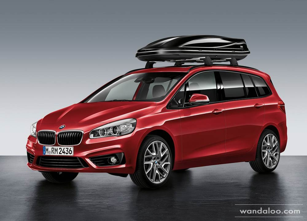 bmw s rie 2 gran tourer 7 places en photos hd. Black Bedroom Furniture Sets. Home Design Ideas