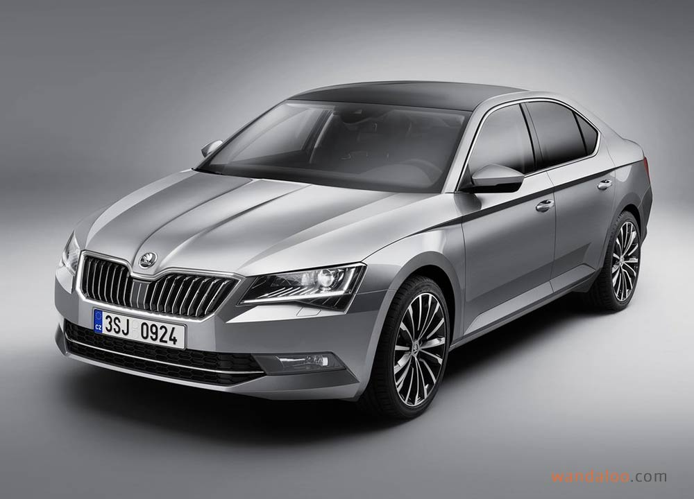 skoda superb 2016 photos skoda superb maroc. Black Bedroom Furniture Sets. Home Design Ideas