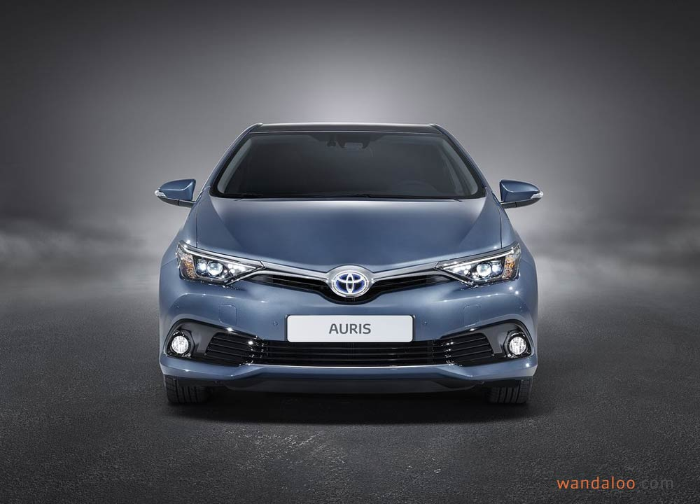 toyota auris 2016 en photos hd. Black Bedroom Furniture Sets. Home Design Ideas