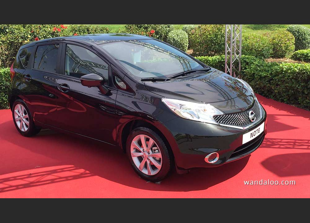 la toute nouvelle nissan note 2015 en photos hd. Black Bedroom Furniture Sets. Home Design Ideas