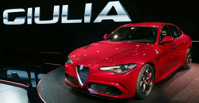 alfa romeo giulia spectaculaire. Black Bedroom Furniture Sets. Home Design Ideas