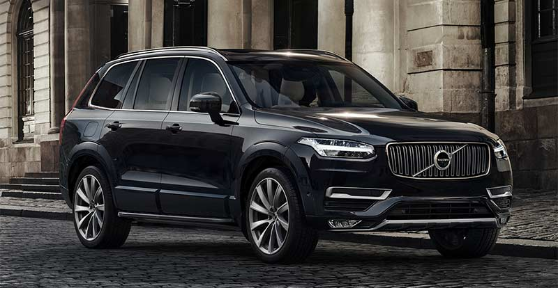 nouveau volvo xc90 lancement au maroc. Black Bedroom Furniture Sets. Home Design Ideas