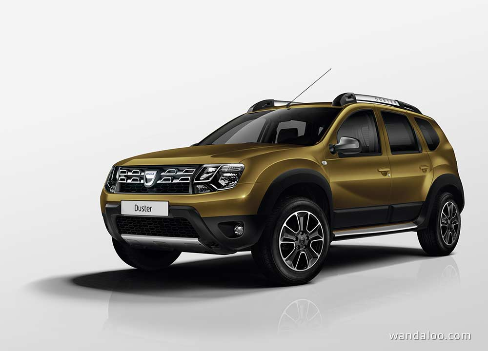 dacia duster edition 2016 en photos hd. Black Bedroom Furniture Sets. Home Design Ideas
