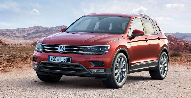 vw tiguan 2017 d voil en premi re mondiale francfort. Black Bedroom Furniture Sets. Home Design Ideas