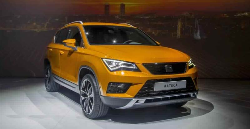 seat ateca le premier suv de la marque ib rique. Black Bedroom Furniture Sets. Home Design Ideas