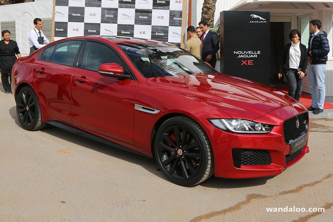 lancement de la nouvelle jaguar xe au maroc en photos hd. Black Bedroom Furniture Sets. Home Design Ideas