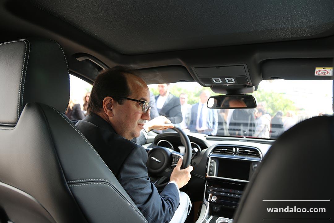 lancement de la nouvelle jaguar xe au maroc photos jaguar xe maroc. Black Bedroom Furniture Sets. Home Design Ideas