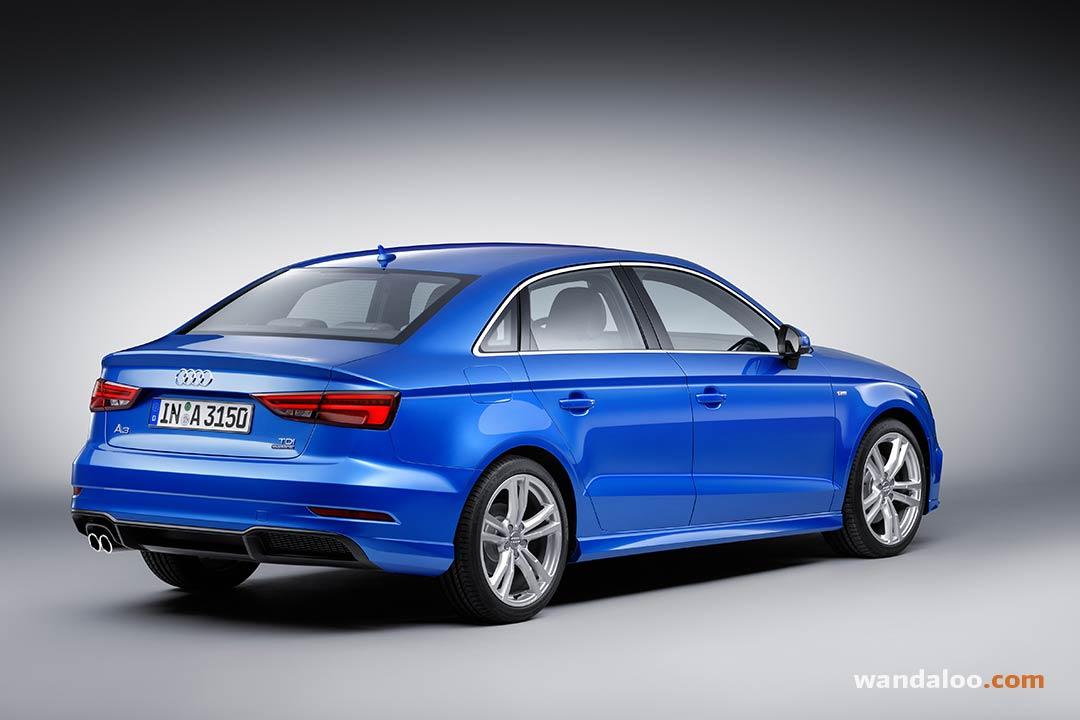 Audi A3 Berline 2017 Facelift En Photos Hd Wandaloo Com