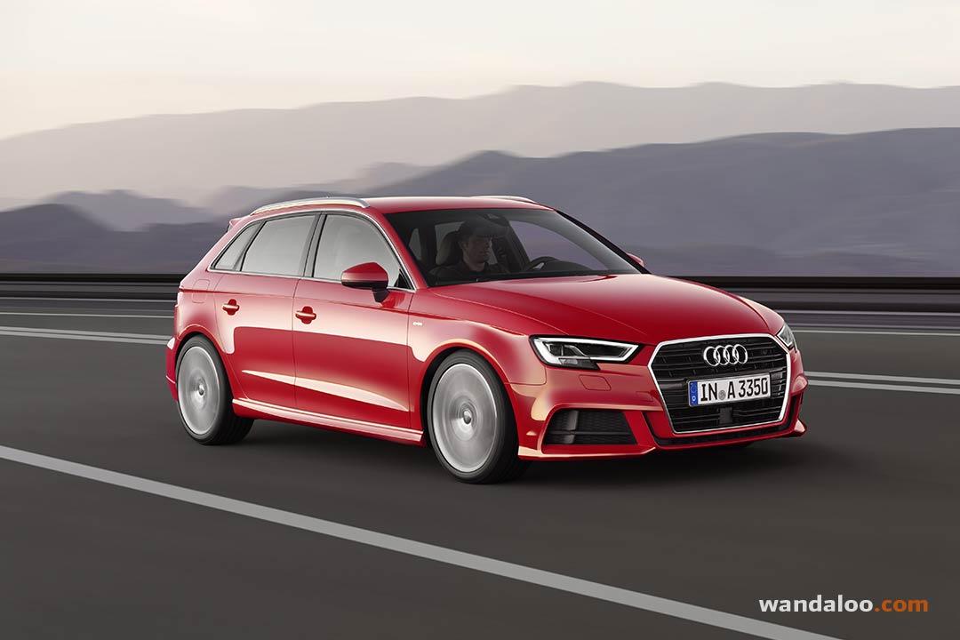 Audi A3 Sportback 2017 Facelift En Photos Hd Wandaloo Com