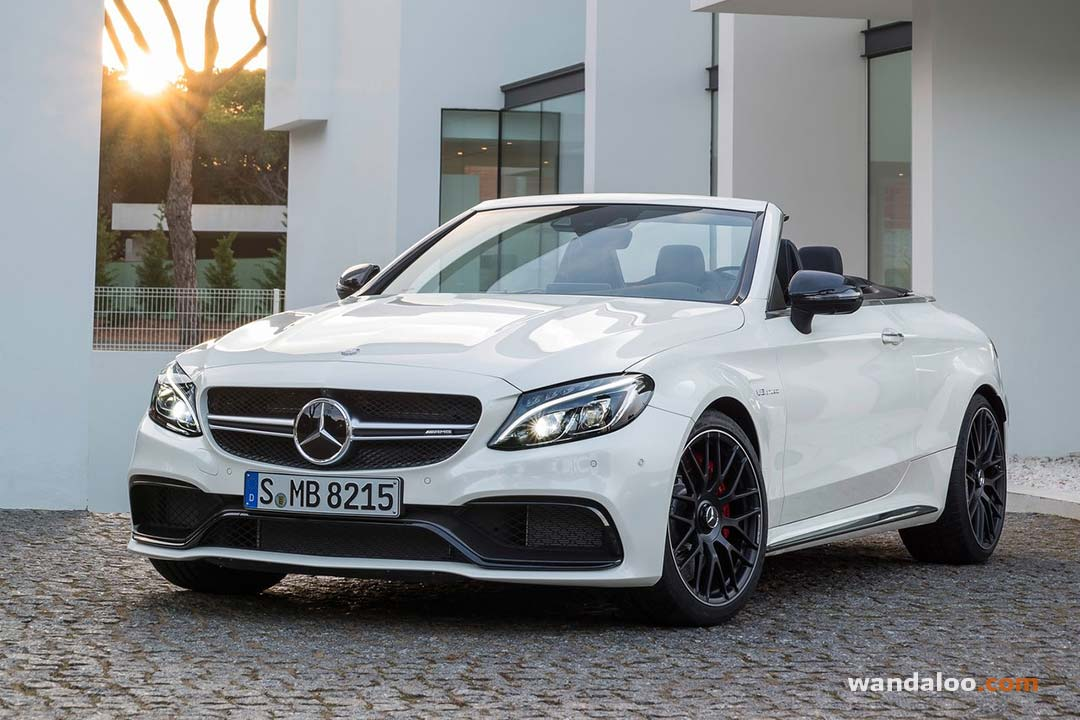 mercedes c63 amg cabriolet 2017 photos mercedes classe c cabriolet maroc. Black Bedroom Furniture Sets. Home Design Ideas