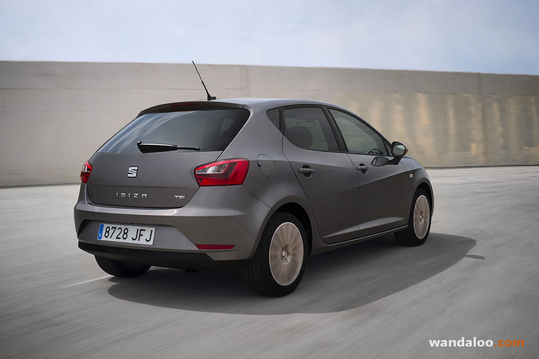 seat ibiza 2016 facelift en photos hd. Black Bedroom Furniture Sets. Home Design Ideas