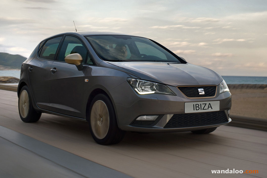 seat ibiza 2016 facelift photos seat ibiza maroc. Black Bedroom Furniture Sets. Home Design Ideas
