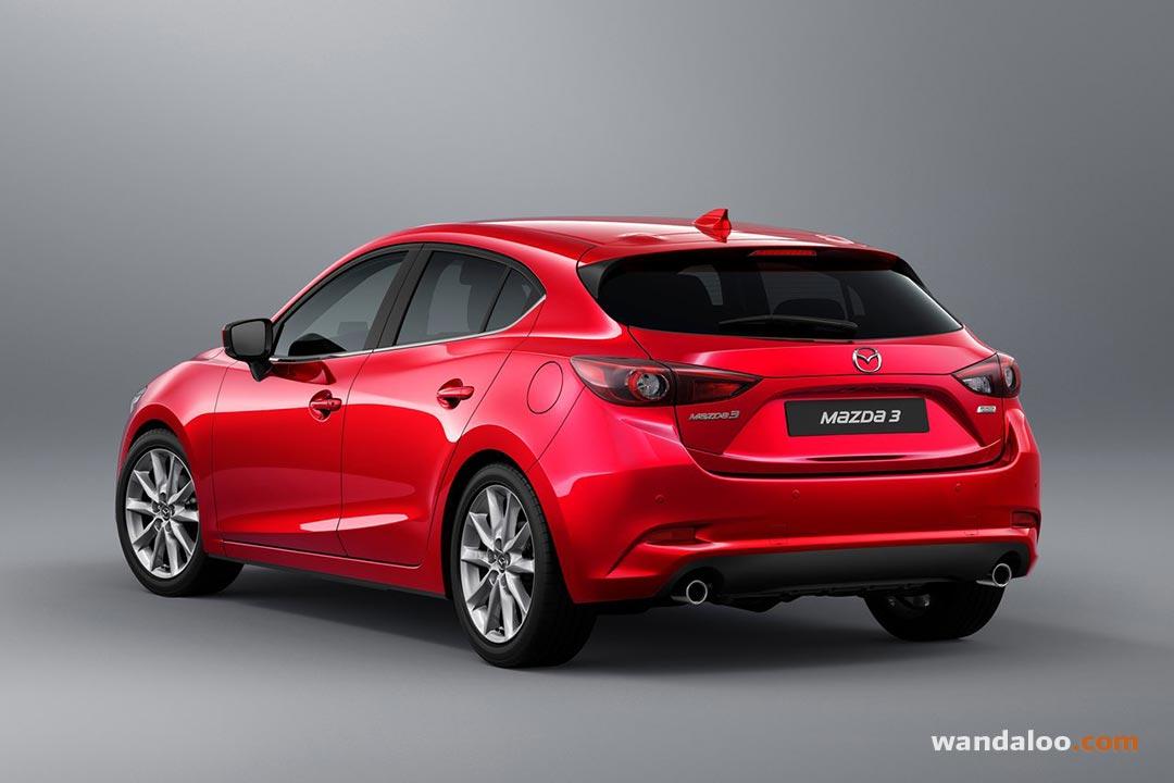 Mazda 3 2016 maroc