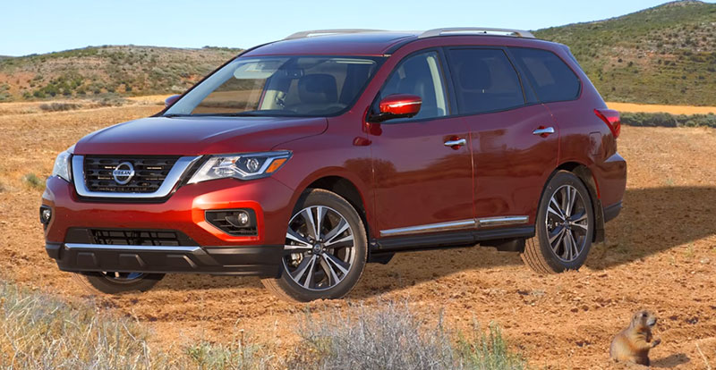 nissan pathfinder 2017 premi re mondiale aux usa. Black Bedroom Furniture Sets. Home Design Ideas