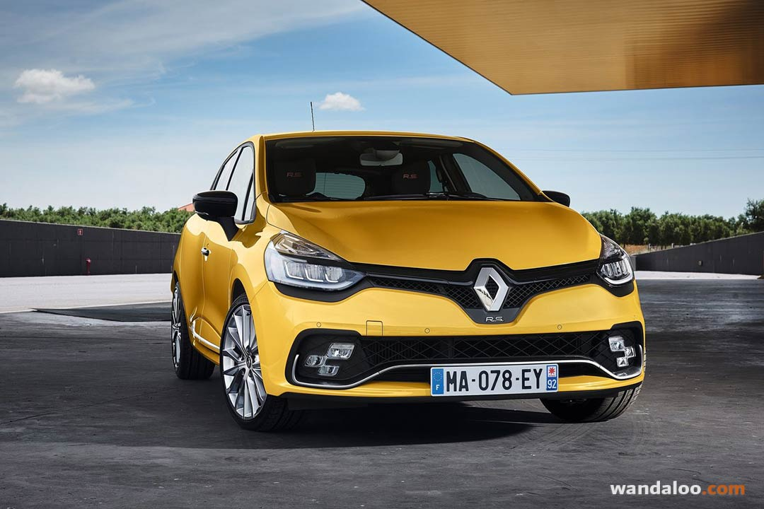 renault clio rs 2017 photos renault clio maroc. Black Bedroom Furniture Sets. Home Design Ideas