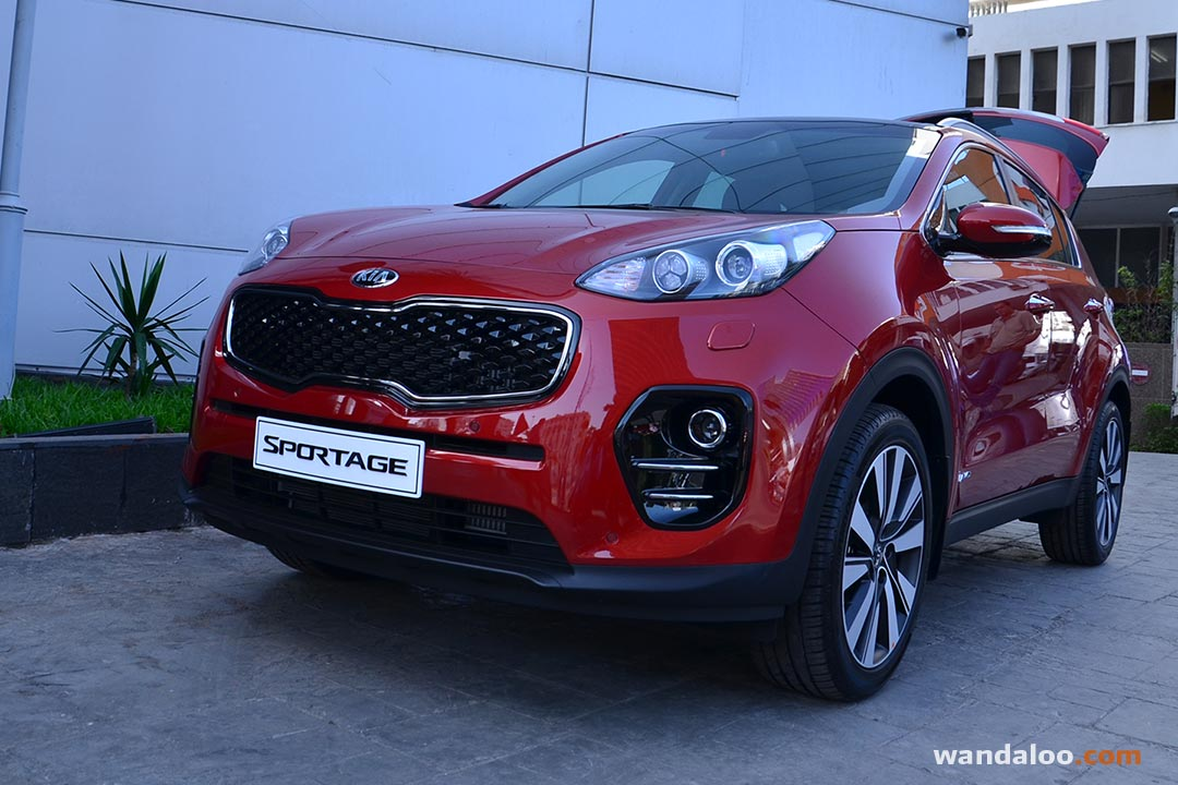 lancement du nouveau kia sportage en photos hd. Black Bedroom Furniture Sets. Home Design Ideas