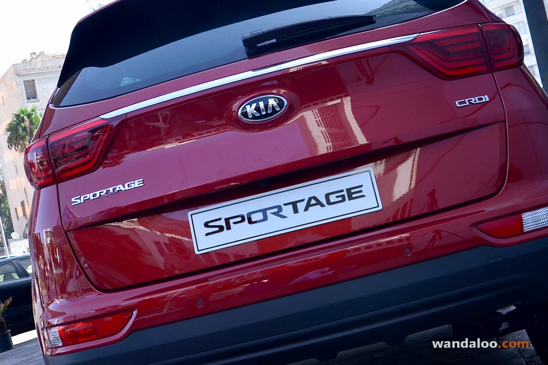 lancement du nouveau kia sportage photos kia sportage maroc. Black Bedroom Furniture Sets. Home Design Ideas