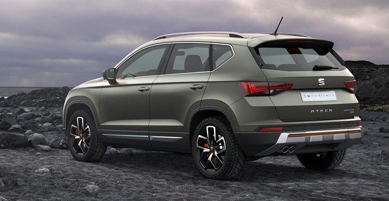 seat ateca x perience tenue de baroudeur. Black Bedroom Furniture Sets. Home Design Ideas