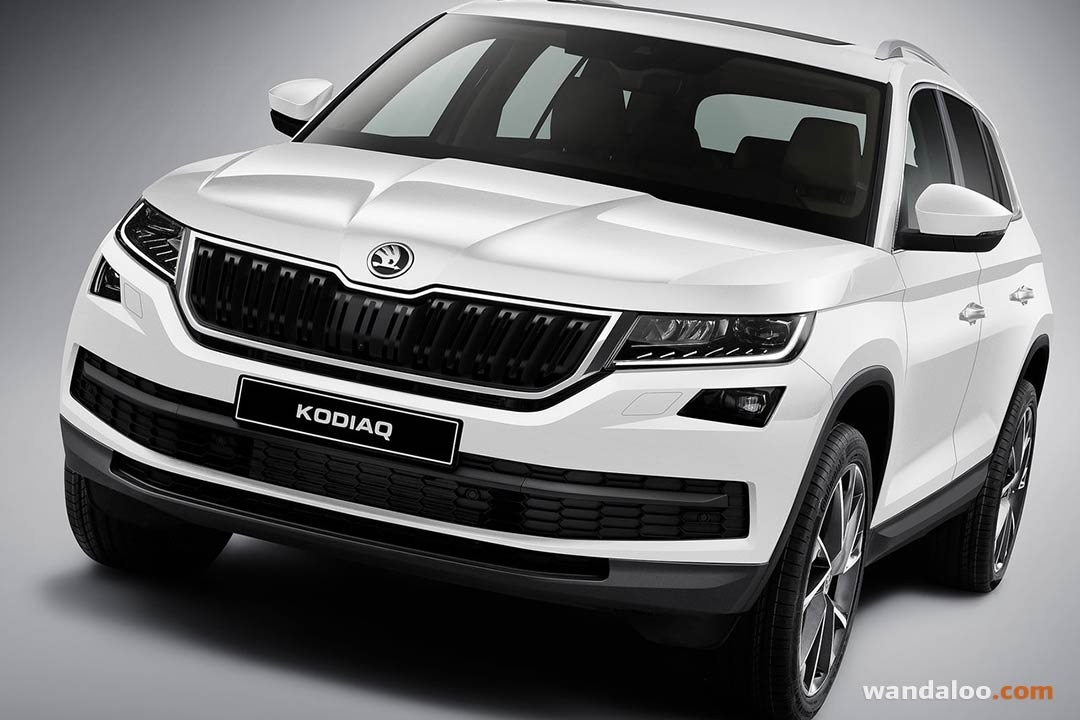 skoda kodiaq 2017 en photos hd. Black Bedroom Furniture Sets. Home Design Ideas