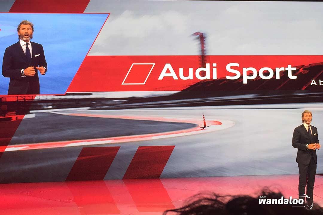 Audi Rs3 Sedan Au Mondial De Paris 2016 En Photos Hd