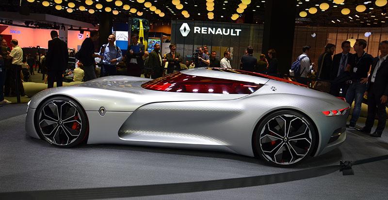 Renault Trezor Concept Nouveaut Au Mondial De Paris