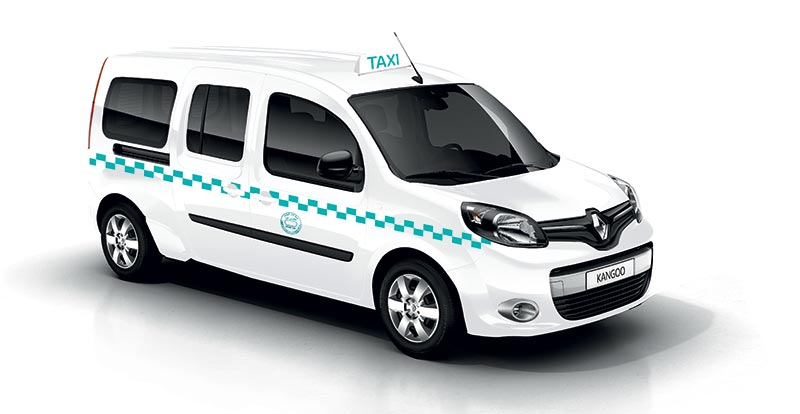 grand taxi renault lance kangoo 7 places. Black Bedroom Furniture Sets. Home Design Ideas