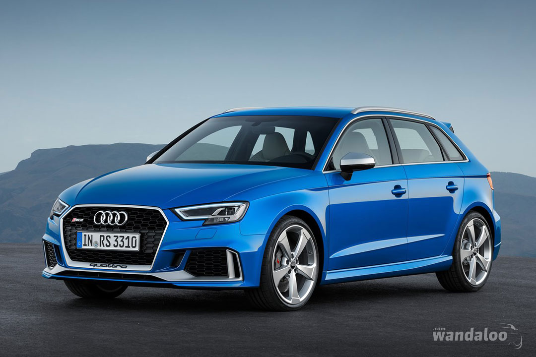Audi Rs3 Sportback 2018 En Photos Hd Wandaloo Com