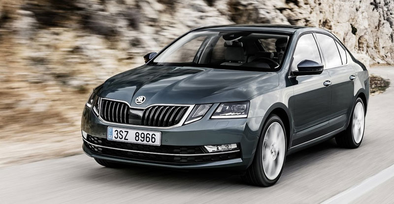 skoda octavia 2017 nouveau look. Black Bedroom Furniture Sets. Home Design Ideas