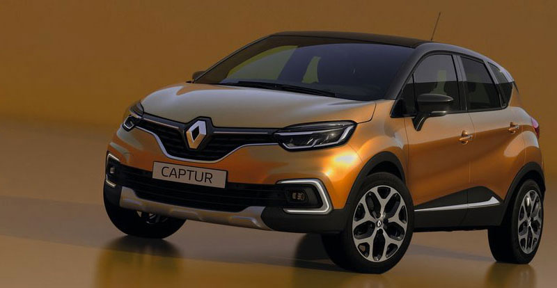 nouveau renault captur restylage de mi carri re. Black Bedroom Furniture Sets. Home Design Ideas