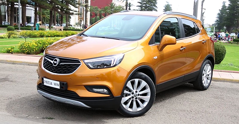 opel mokka x restyl nouvelle exp rience du suv. Black Bedroom Furniture Sets. Home Design Ideas