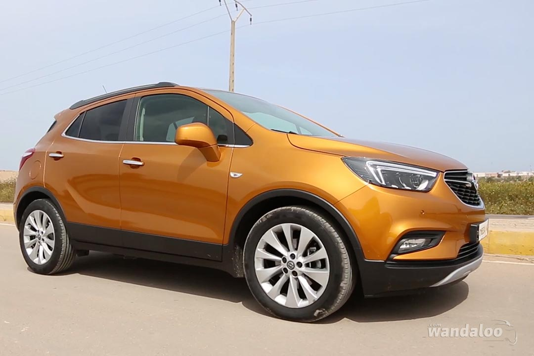 opel mokka x facelift les photos de notre essai photos opel mokka x maroc. Black Bedroom Furniture Sets. Home Design Ideas