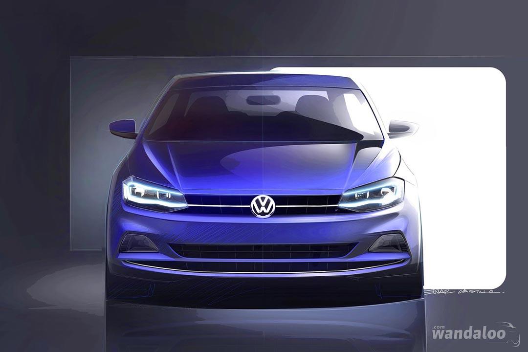 Volkswagen Polo Vi En Photos Hd Wandaloo Com