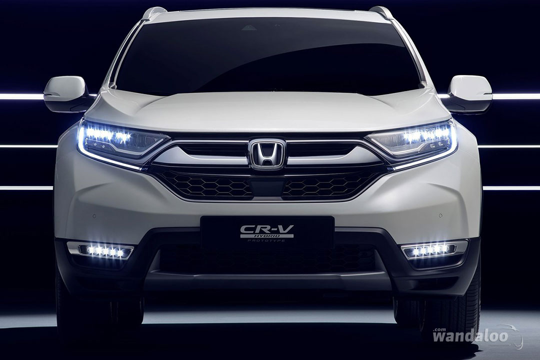 honda cr v hybride concept 2017 en photos hd. Black Bedroom Furniture Sets. Home Design Ideas