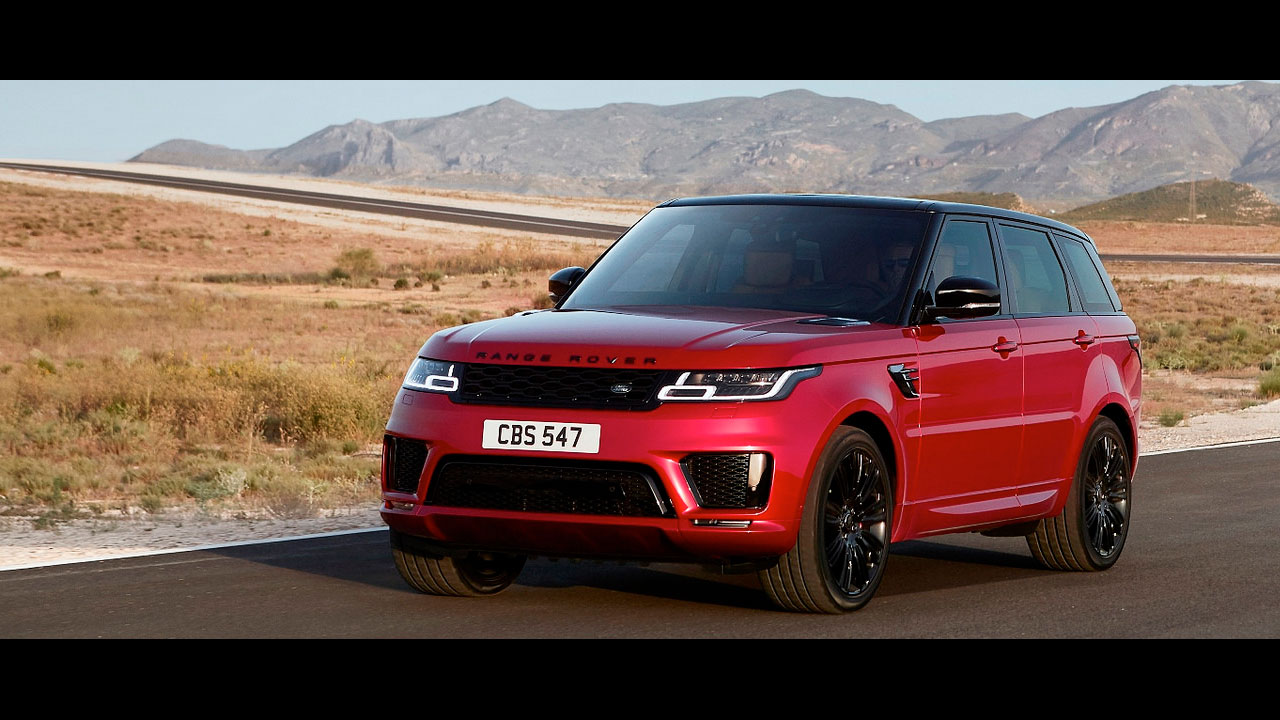 nouveau range rover sport 2018. Black Bedroom Furniture Sets. Home Design Ideas
