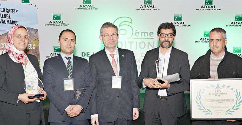 Actu. nationale - 6ème Edition de l'Eco Safety Challenge d'ARVAL Maroc