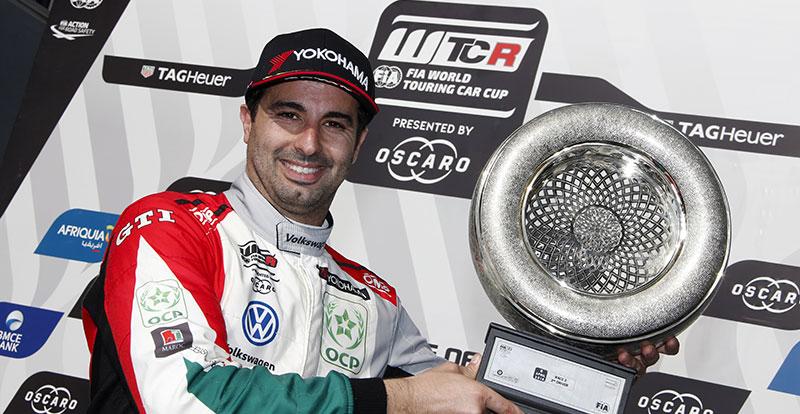 Actu. nationale - Un nouveau podium à Marrakech pour Mehdi Bennani au WTCR 2018