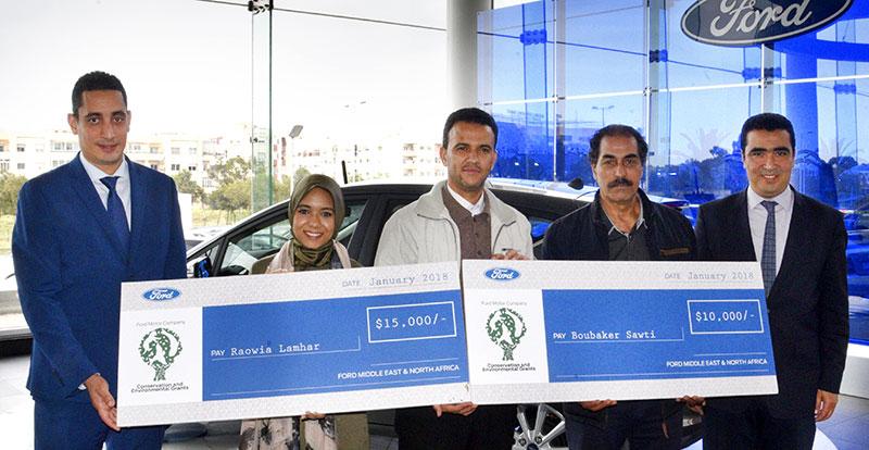 Actu. nationale - FORD soutient des projets environnementaux au Maroc